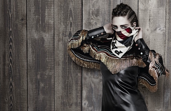 Actress Kristen Stewart Stars In Karl Lagerfeld's Latest Campaign For Chanel