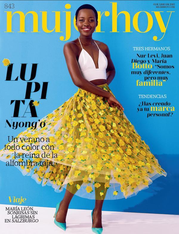 Lupita Nyong'o Covers MujerHoy.