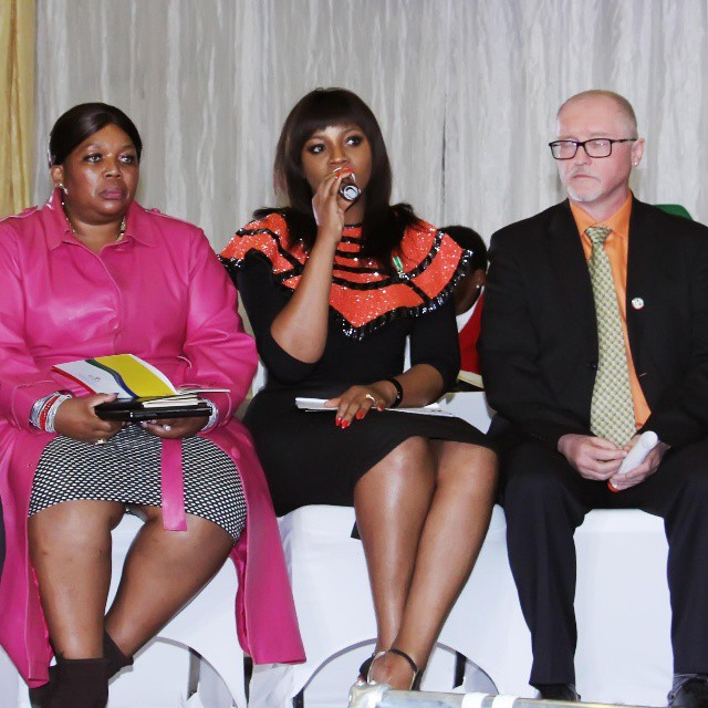 Omotola Jalade Ekeinde Attends The 25th African Union Summit In South Africa