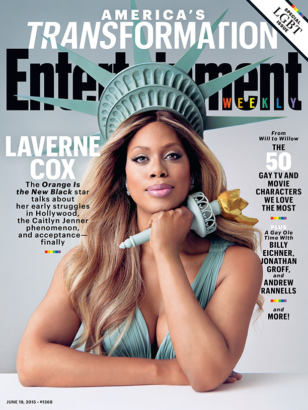 Laverne Cox Covers The New Entertainment Weekly