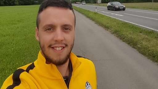 Football Fan Treks 683 Miles To Watch His Team Play