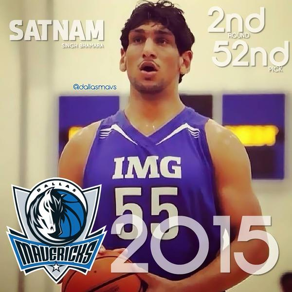 Satnam Singh Bhamara Becomes The First Indian In The NBA