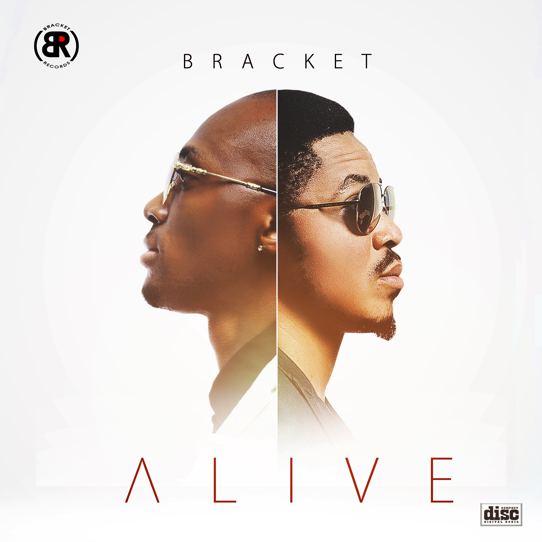Album Art and Track List for the upcoming ALIVE Album by BRACKET