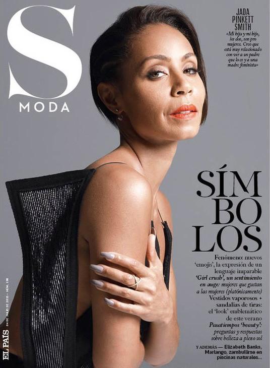Jada Pinkett Smith Covers S Moda Magazine