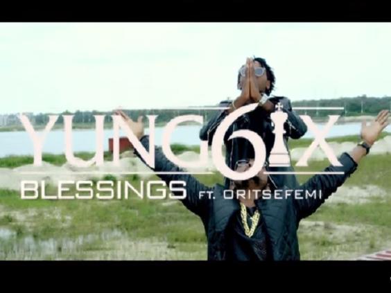 NEW MUSIC : Yung6ix – Blessings Ft. Oritse Femi