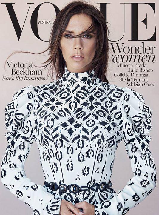 Victoria Beckham for Vogue Australia – August 2015