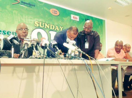 NFF Unveils Sunday Oliseh As Super Eagles Head Coach