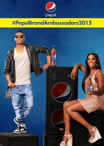 Wizkid and Tiwa Savage have Pepsi Music Ambassadors Contracts Renewed