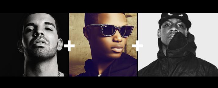 Ojuelegba (remix) || Wizkid featuring Drake + Skepta