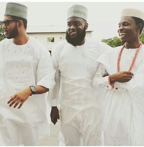 PHOTOS: President Buhari's official photographer, Bayo Omoboriowo gets married
