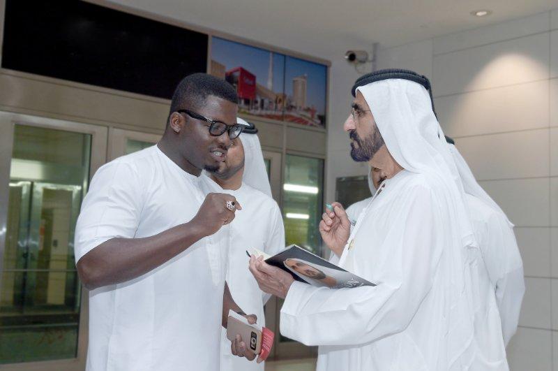 "On Meeting the Ruler of Dubai: by Sijibomi ""Sujimoto"" Ogundele"