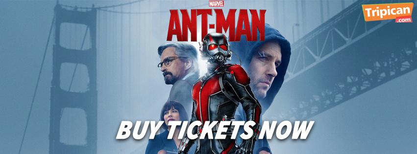 Marvel's ANT-MAN Still In Cinemas