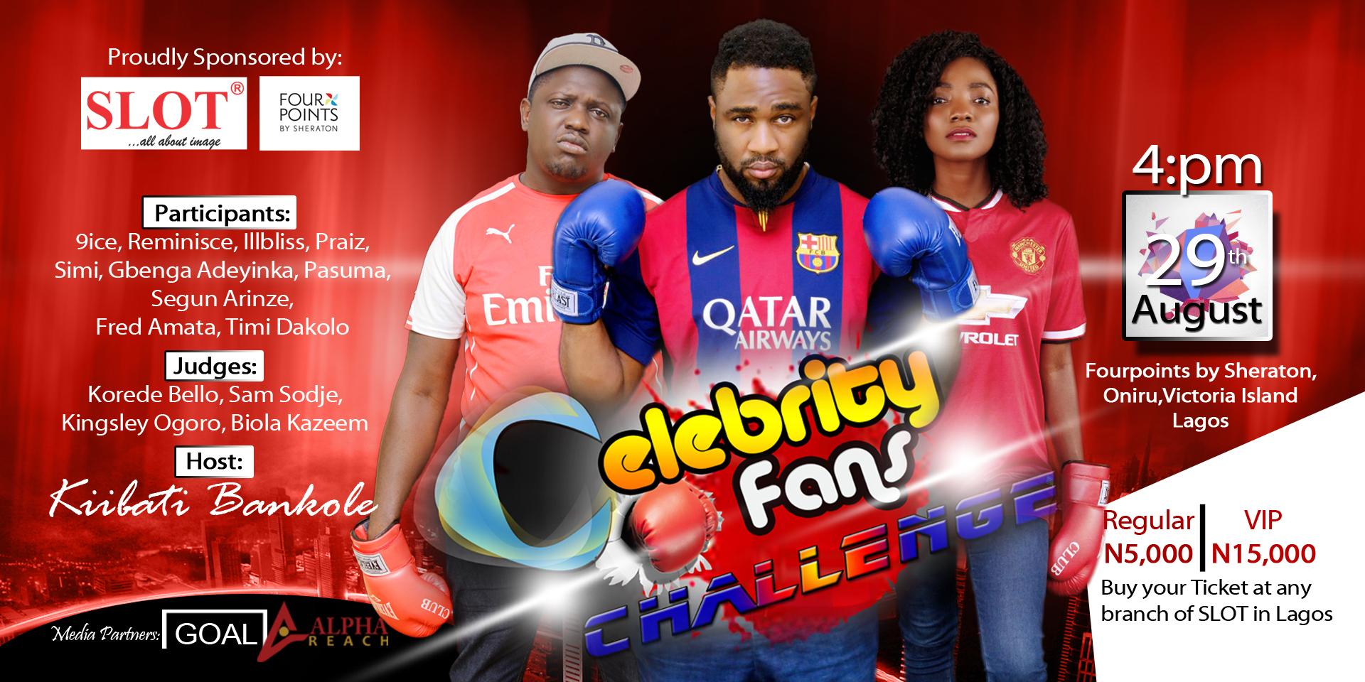 Celebrity Fans Challenge 2015