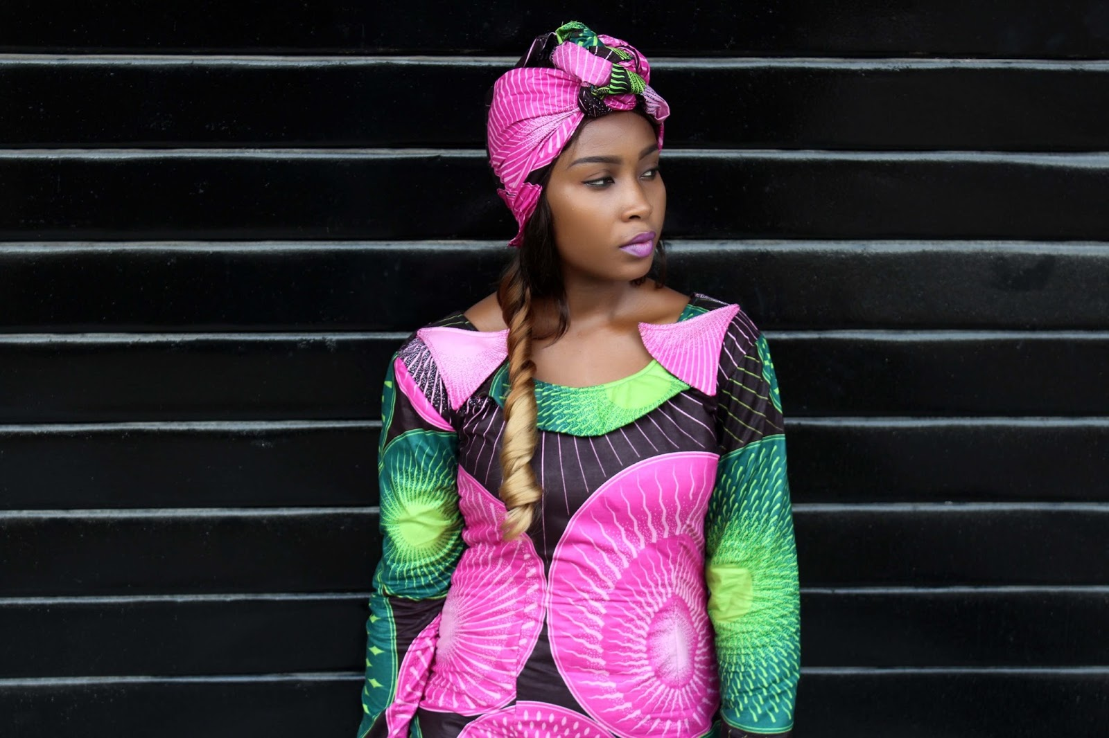 Millare Fashion's Millicent Arebun Shows us how to wear African Ankara Prints to work