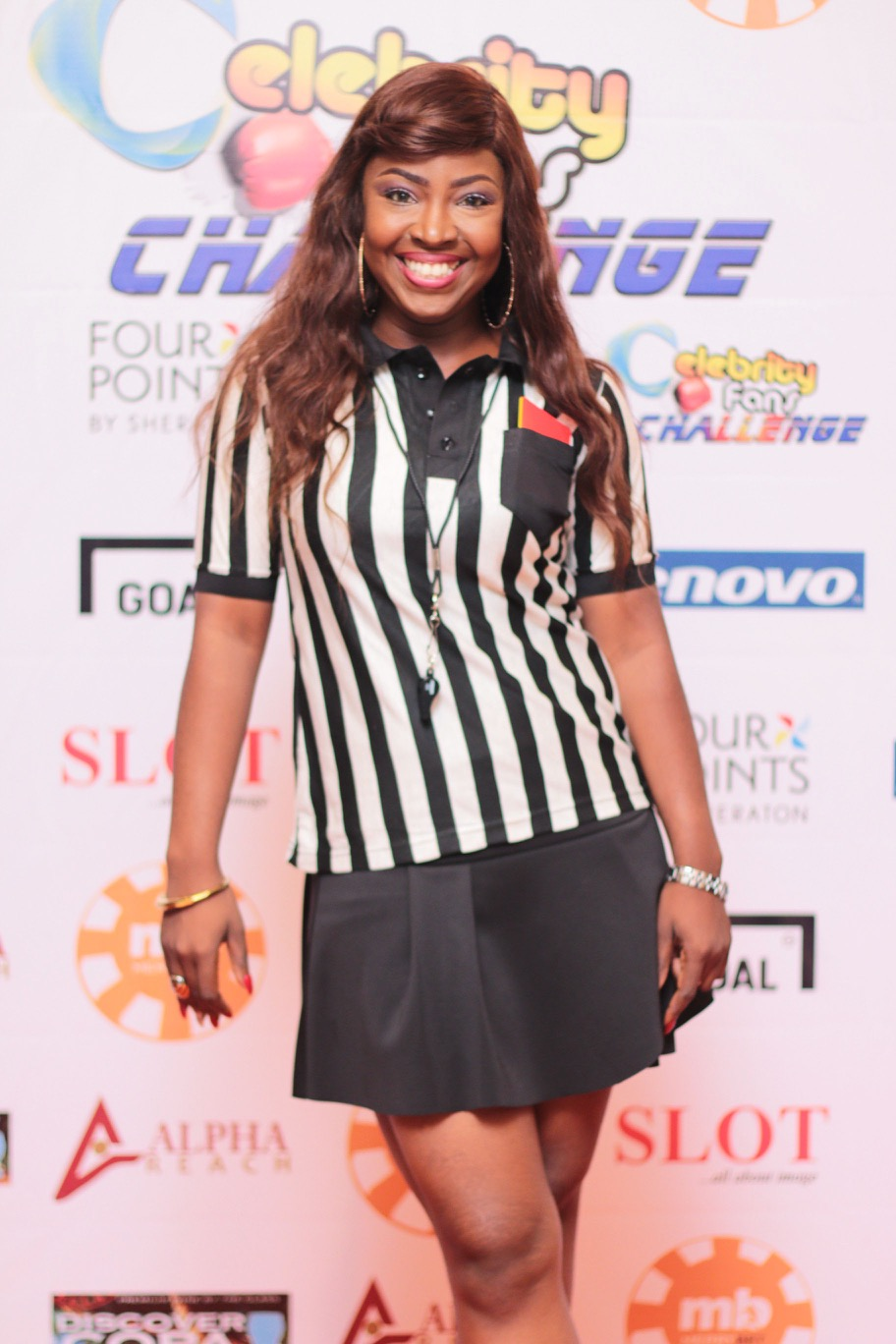 Kiibati Bankole host of Celebrity Fans Challenge 2015