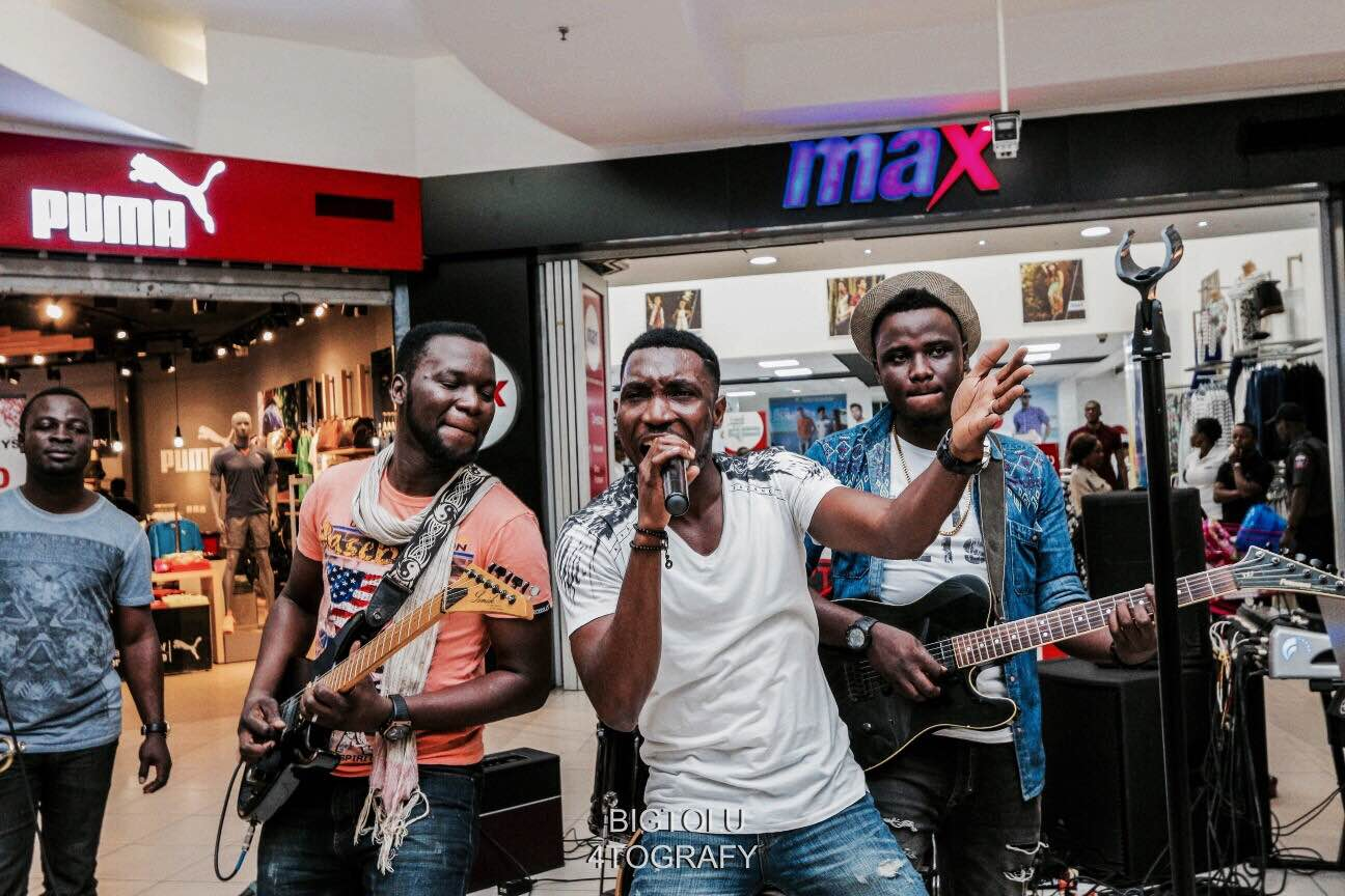 Pop Up Soul: Timi Dakolo performs at The Palms