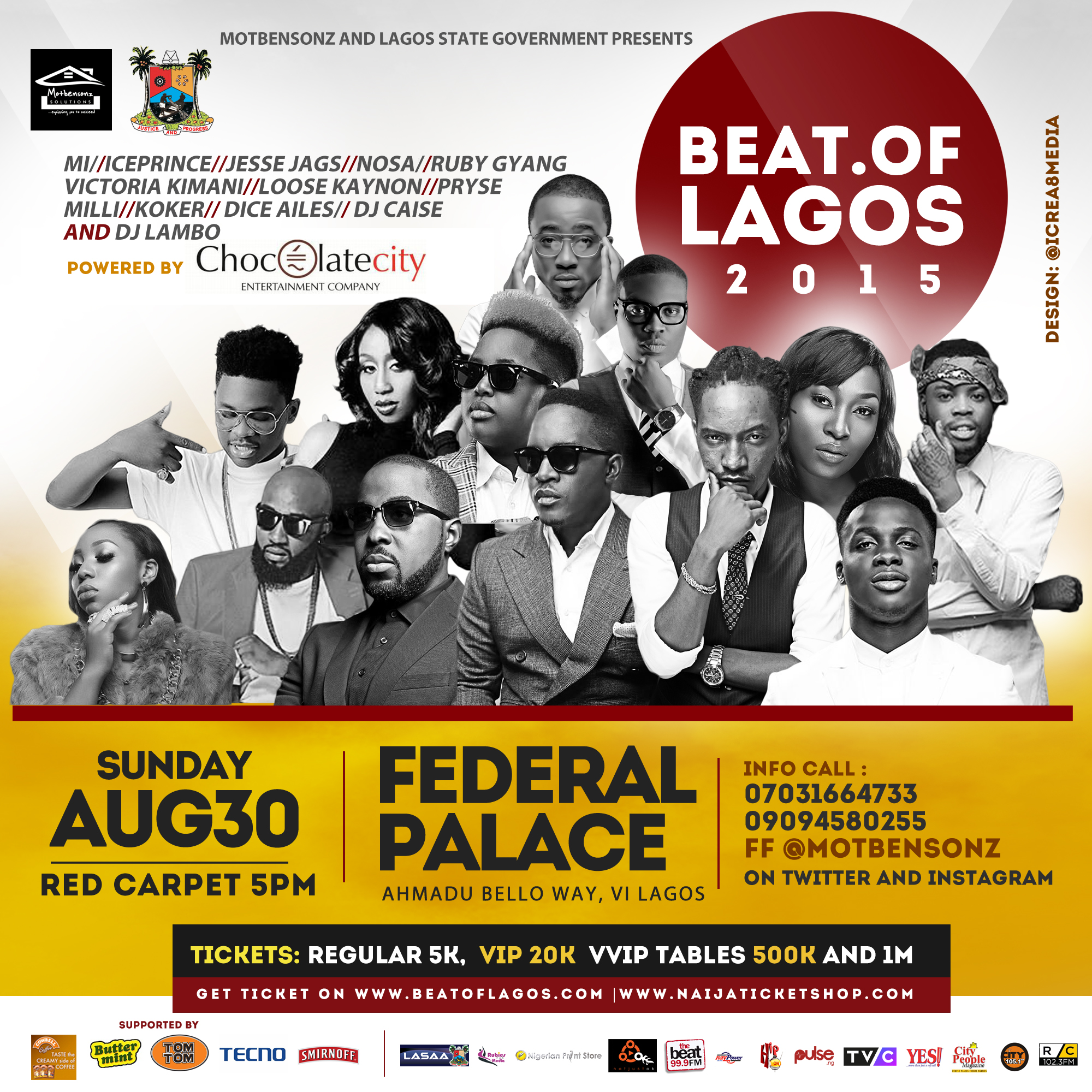 The Beat Of Lagos 2015